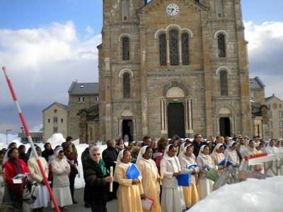 Prière après la cérémonie