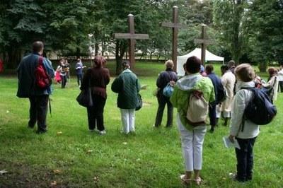 Prière devant la Croix