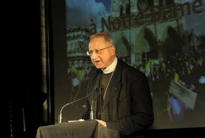 Mgr Bernard Housset, évêque de La Rochelle et Saintes, accompagnateur du CCFD-Terre Solidaire