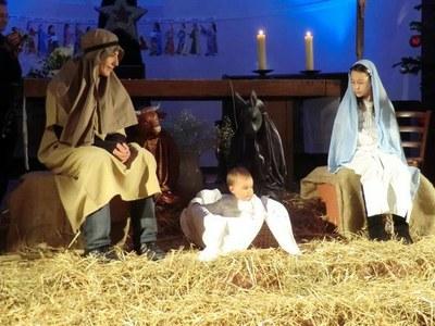 Arrivée de Jésus