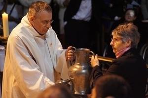 La bénédiction de l'huile pour le sacrement des malades