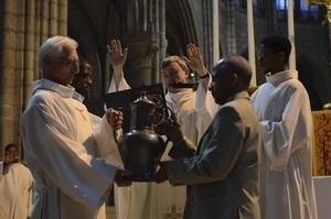 Consécration du Chrême