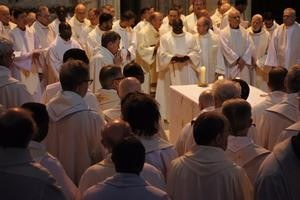 La table eucharistique...
