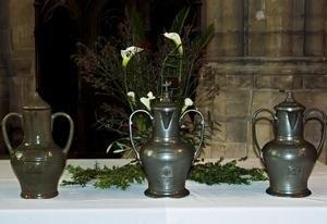 Les huiles seront sanctifiées et bénites durant la célébration