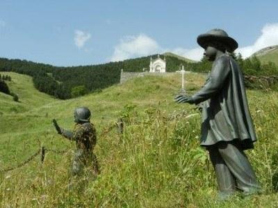 Les deux bergers Maximin et Mélanie