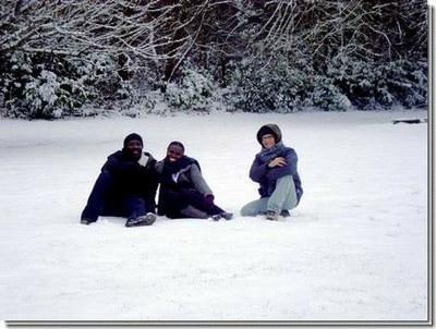 La neige pour la premiere fois