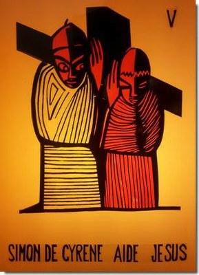 Le père d'Alexande et de Rufus (Simon), est originaire de la Libye actuelle (Cyrène, une ville d'Afrique du Nord).