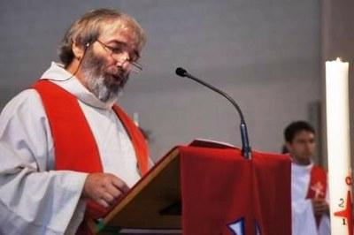 Le père Frantz, de la communauté spiritaine sur le secteur du Blanc-Mesnil