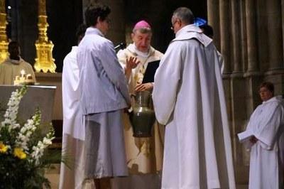 Messe Chrismale 2017 19 - Bénédiction de l'huile des catéchumènes