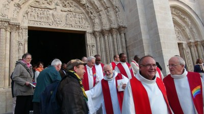 Sortie celebration cathedrale 2015