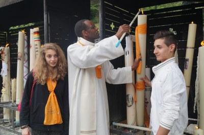 Cierge diocesain Lourdes 2015
